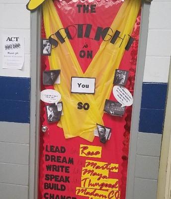 Mrs. Callihan's Door