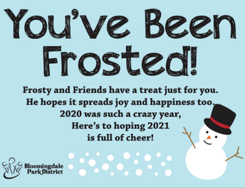 You've Been Frosted!