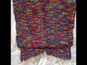 Hand Woven Cotton Rug 1