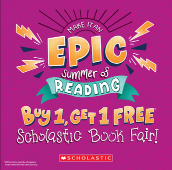 The Scholastic Bookfair is back!