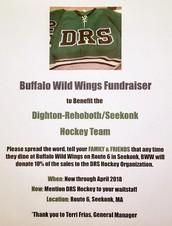 hockey fundraiser!
