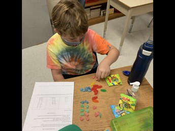 Building on Patterns using tempting manipulatives