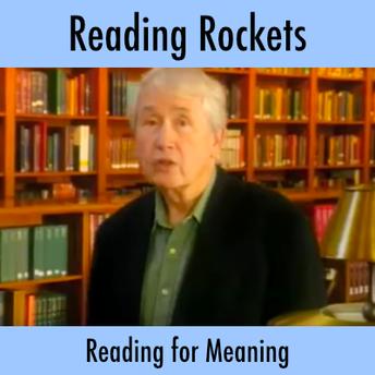 Reading Rockets video screenshot of author Frank McCourt