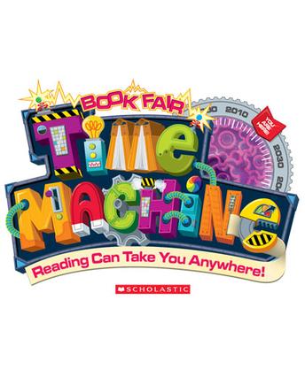 Scholastic Time Machine Book Fair