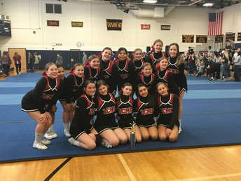 Congrats to Our Cheerleaders!