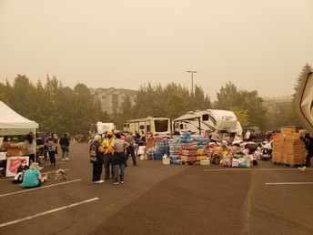 Fire Evacuee Site