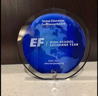 picture of International Exchange Award