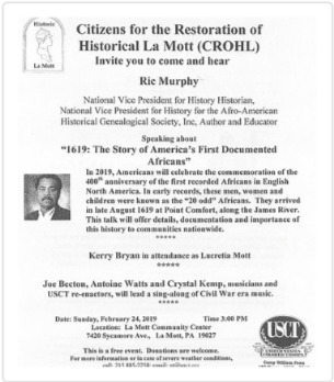 1619: The Story of America's First Documented Africans