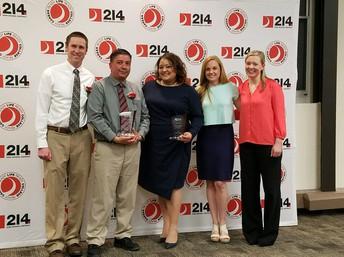 AVID Team honored with Principal's Award