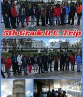 5th Grade Annual D.C. Trip