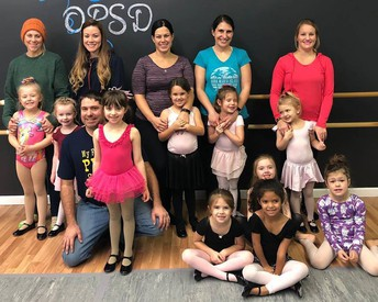 Bring a Family Member To On Pointe Music/Dance Week