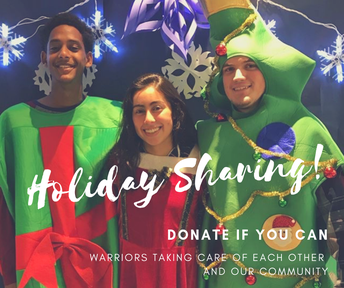 You Can Help - Donations for Holiday Sharing