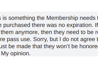 I don't usually criticize the board's decision but this this is just wrong no matter how you look at it there is no reason not to refund money to people who still have them