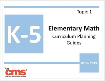 Revised Quarter 1 curriculum planning guides and assessments will be available by topic and by standard on June 30.