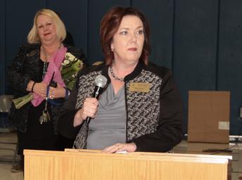 FHSD's Board of Education President, Rene Cope, Praises Dr. Worley