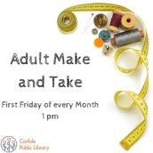 Adult Make and Take