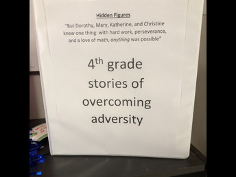Students write about adversity!