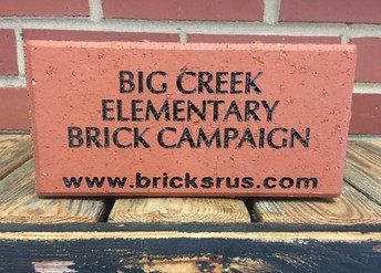 Bricks for Big Creek - DEADLINE IS DEC 31