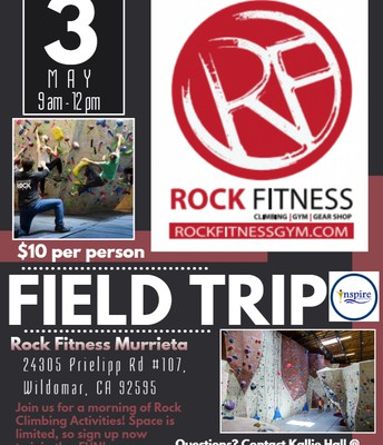 Rock Fitness Field Trip!