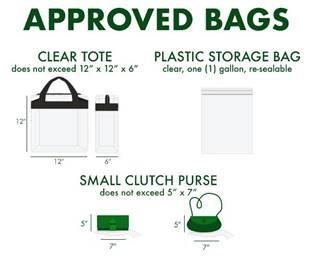 Reminder: PISD Stadium Bag Policy