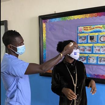 Nurse G. Checking Temperatures