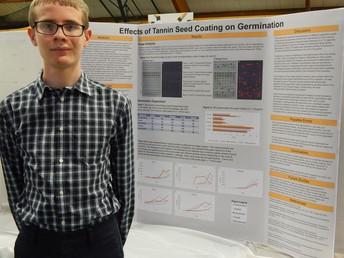Tamanend Student Impresses Judges at Delaware Valley Science Fair