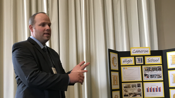2019 Exemplary School Cameron HS.  Principal: Brett Jones