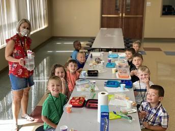 Preschool At Lunch