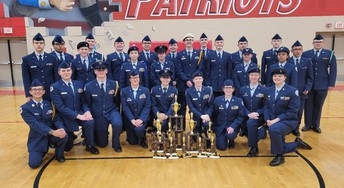 JROTC Takes Second Place In Drill Competition