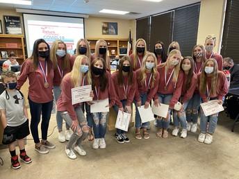 School Board Recognizes Outstanding Eagle Accomplishments