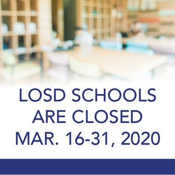 Events, Meetings and Activities Postponed or Canceled During School Closure