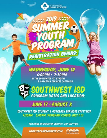 2019 Summer Youth Program