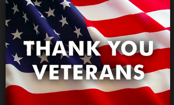 Tuesday, 11/13   Veterans' Program Presented by 5th-Grade!