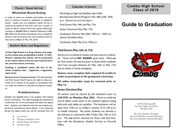 Guide to Graduation