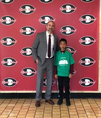 Edwin Delgado-Raymundo, 6th Grade