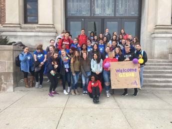 StuCo Hosts Grand Island Students
