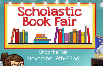 Last chance to visit the Book Fair Nov. 22nd!