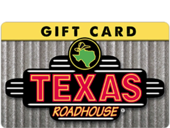 Texas Road House Gifts Cards