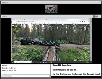 Earth Day Virtual Field Trip