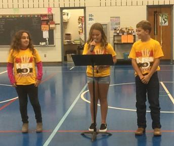 Central Elementary's Strive for 5 Program