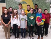 Students of the Month - September Recipients