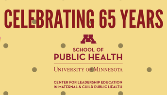 1. Celebrating the Center's 65th Year of Funding!