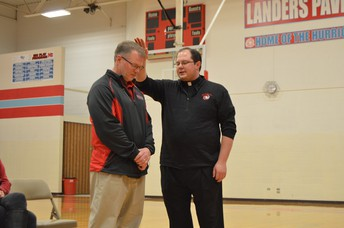 Father Twenty Prays for Coach Fortin
