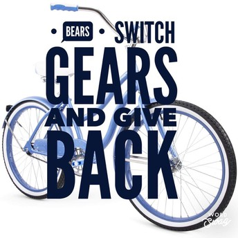 Bears Switch Gears and Give Back!