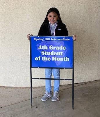 4th grade Student of the Month