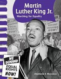 Martin Luther King Jr. Marching for Equality