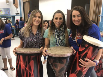 Structured PE, Yoga and Beat the Odds Drum Circle Updates