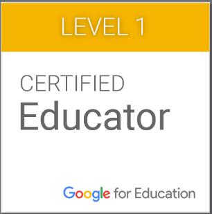 Google Level 1 Certified Educators