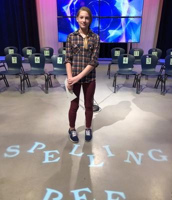 Spelling Bee Finalist Megan!!