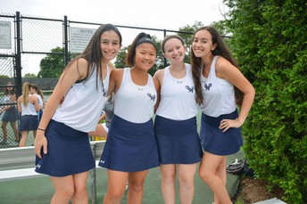 Doubles Teams after another Victory